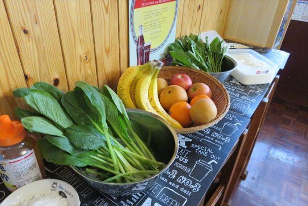 フレッシュな野菜とフルーツたち