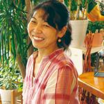 「花カフェ」東原秋子さん