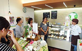 カフェ起業者訪問